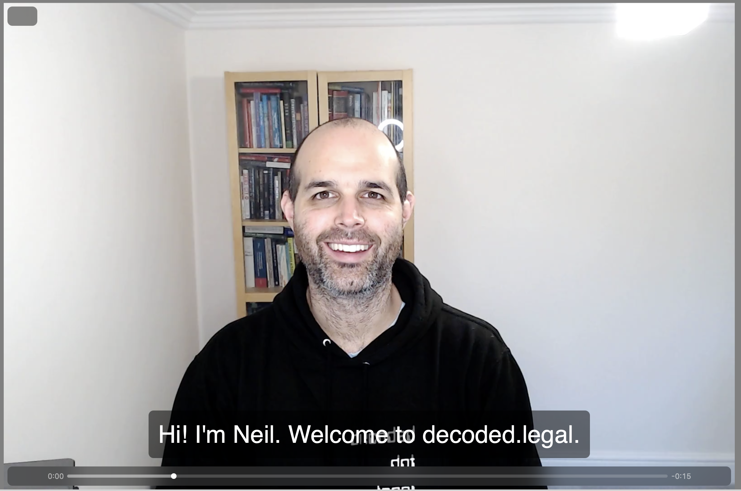 screenshot of html5 video on decoded.legal